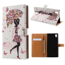 "Buy Sony Xperia xa1 Cover Pattern Printing PU Leather Wallet Case Accessory Coque Sony Xperia XA 1 5.0"" Mobile Phone Funda for $4.24 in AliExpress store"