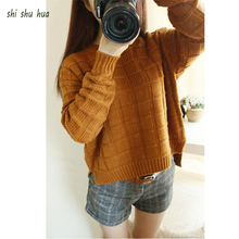 Childre Clothing 2017 Winter New  Sweater Coat Girls Clothes Fashion Loose Jacket Sweater Middle School Children Casual Clothes