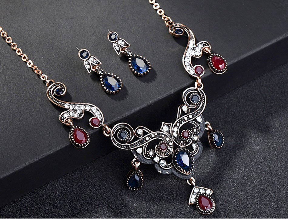 Turkish-Vintage-Jewelry-Sets-Necklace-and-Earrings_02