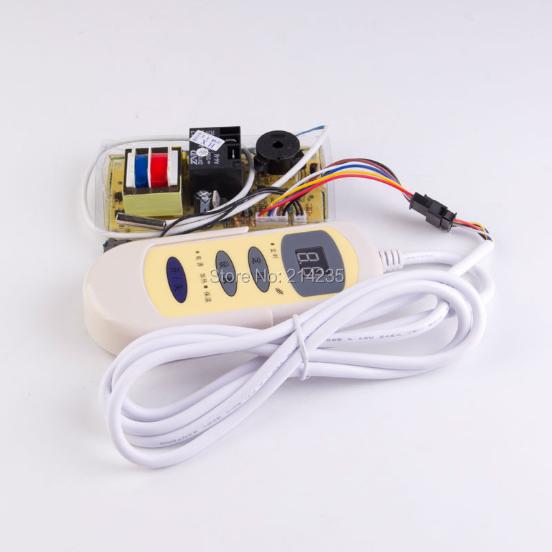Universal electric water heater controller<br>