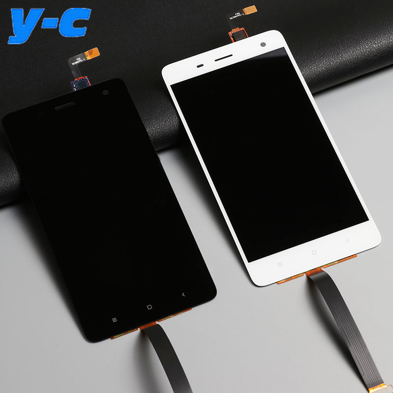 For Xiaomi mi4 LCD Display+Touch Screen 100% New Digitizer Screen Glass Panel Assembly Replacement For Xiaomi mi 4 M4 In Stock<br>