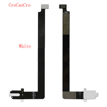 CroCaoCro Headphone Audio Jack Port Dock Connector Port Flex Cable Replacement Parts For Apple iPad Pro 12.9 A1584 A1652 Wifi/3G