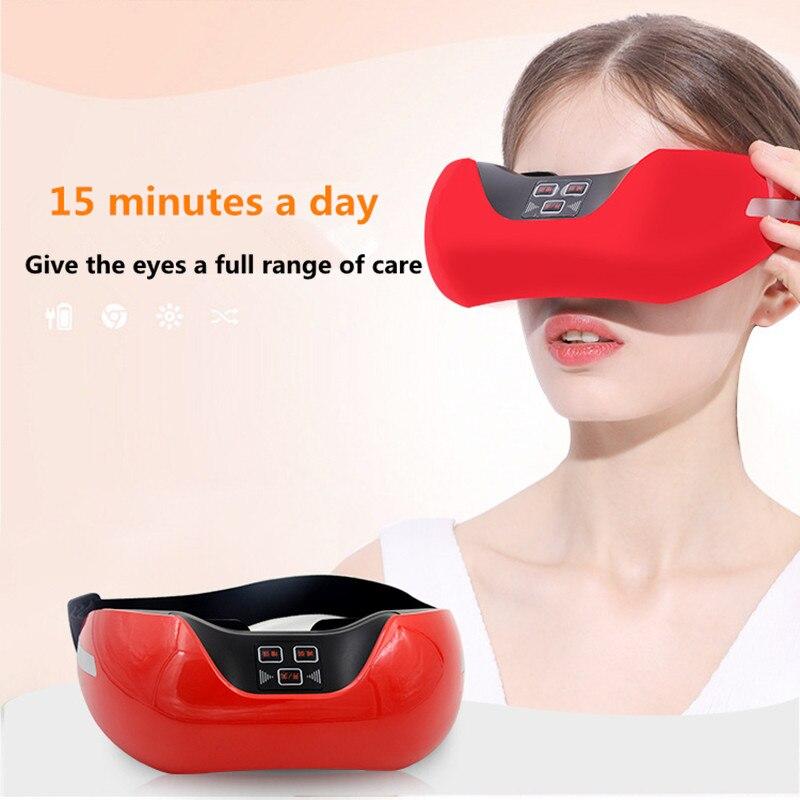 2PCS 3D visual acuity meter green light Eye acupuncture massage training eyesight alleviate eye fatigue<br>