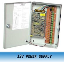 18CH Port 12V 20A POWER SUPPLY BOX for CCTV CAMERAS Security System 5PCS
