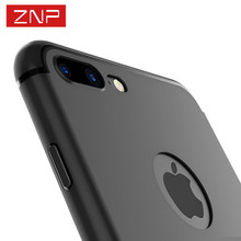 ZNP Luxury High Quality TPU Case for iPhone 6 6S Plus 5 5s SE 7 7 plus Cover Soft Silicon Case for iphone 7 Plus Full Cases p35