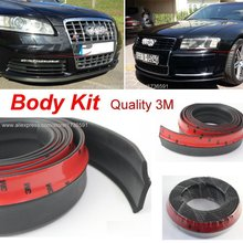 Make car lower Body Kit / For Audi A5 S5 RS5 2007~2015 / Car Bumper Lip / Front / Rear Skirt Spoiler / Deflector Rubber Strip(China)