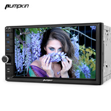 Pumpkin 2 Din Android 7.1 Univeral Car DVD Player With GPS Navigation Car Stereo FM Rds Maps Wifi Radio 7 Inch 3G USB Headunit(China)