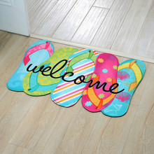 New Arrive Homing Door Mats Entrance Floor Color Shoes Carpets Living Room Dust Proof Mats Home Decor Watermelon Area Rug 1 PIC(China)