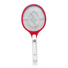 Home 1 Pcs Rechargeable Electric Insect Bug Mosquito Zapper Swatter racket Wasp anti Mosquito Bat Killer Electric Mosquito(China)