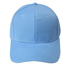 2017 Summer Most Popular Baseball Cap Blank Hat Solid Color Adjustable Hat 100% Brand New And High Quality A8(China)