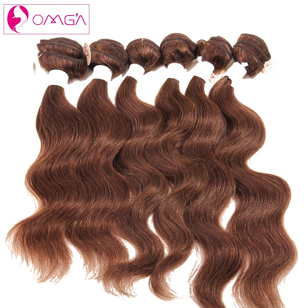 OMG 7A Peruvian Virgin Hair Body Wave 6 Piece/lot 2*12 2*14 2*16 #1B #2 #4 Human Hair Extensions Peruvian Body Wave Virgin Hair<br><br>Aliexpress