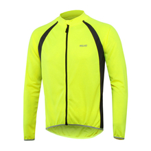 Breathable MTB Bike Cycling Jersey Long Sleeve Sports Clothing Men Full Zipper Cycle Bicycle Clothes 4 Colors For Outdoor Sports(China)
