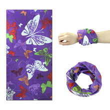 Multi Function Floral Scarf Mask Variety Turban Magic Scarves Face Snood Headband Bandanas for Women and Men F0296(China)