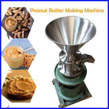 7.5KW free shipping 220v soybean milk peanut butter jam crushing emulsifying/Tahini Butter Colloid Grinder(China)