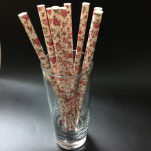 Birthday Party Paper Drinking Straws Decorations Drinking Tubes Wedding Decorative Party Supplies Decoration Baby Shower