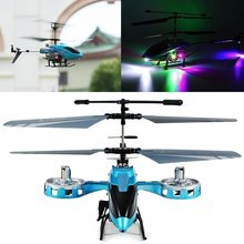 New Version Avatar 4CH Infrared Control Remote Control RC Helicopter LED Gyro plane Toys RTF(China)
