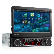 7 inch Android 4.4.4 1DIN Touchscreen Car DVD Player 1024*600 GPS Navigation Car Stereo Radio Bluetooth Steering Wheel Control