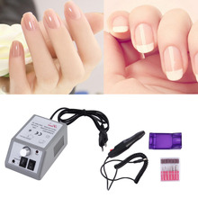 Best Selling 1 PCS Manicure Pedicure Acrylics Gel Polish Electric Drill Nail Set Kit 10W 220V