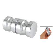 "New Hotsale Best Price In Aliexpress promotion Shower Room Door 1.2"" Dia Chrome Metal Knob Handle"