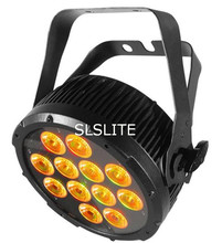 4pcs/lot NEW  led 12x18 RGBWA+UV 6IN1 LED FLAT SLIM PAR STAGE LIGHT/LED PAR 64 CAN LIGHT