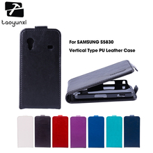 TAOYUNXI Magnetic Flip Leather Case For Samsung Galaxy Ace S5830 S5830I GT-S5830i 5830 3.5 inch Case Cover(China)