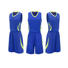 2017 basketball clothes set male basketball jersey basketball clothing mens adult Sporting Training Suit uniforms for team sport(China)