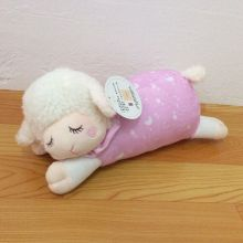 36cm=14inch Cute Baby Kids Animal Sleeping Sheep plush toy Soft appease doll for Children & Kids gift