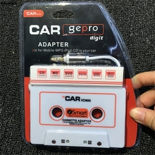 mosunx 3.5mm AUX Car Audio Cassette Tape Adapter Transmitters for MP3  for IPod  for iPhone Android Phone Smartphone Cellphone P