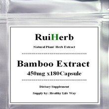1Pack Bamboo Extract Capsule 450mg x 180pcs Ultra Vitamin for Skin, Hair, and Nail Growth
