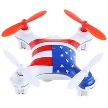 New Fashion V676 RC Helicopter 2.4G 4CH 6-Axis Mini Quadcopter Drone LED Light 3D unlimited eversion RTF Toys Nano Copters