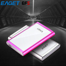 "Clearance EAGET G90 USB 3.0 2.5"" 500GB 1TB External Hard Drive Ultra-thin Mobile Hard Disk High-speed Hardware Encryption HDD(China)"
