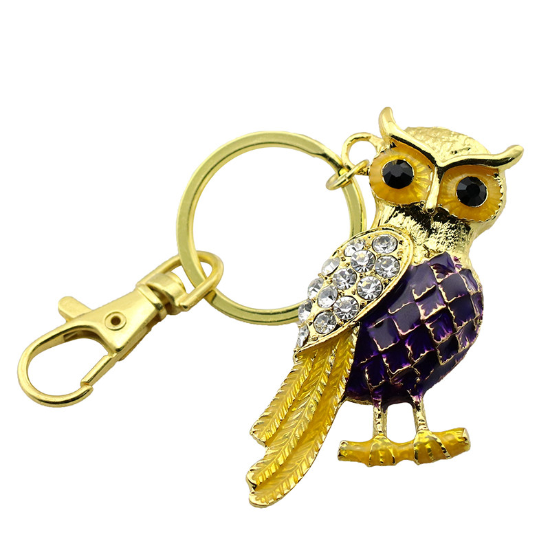 Animal USB Flash Drive Metal Diamond Owl Pendrive Nighthawk Pen Drive 4GB 8GB 16GB 32GB 64GB USB Memory Stick Gift With Necklace 35