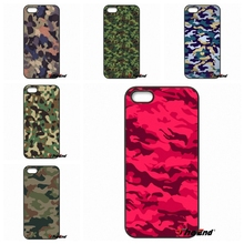 Cool Camo Camouflage Pattern Mobile Phone Case For HTC One M7 M8 M9 A9 Desire 626 816 820 830 Google Pixel XL One plus X 2 3