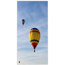 Modern Microfber Fabric Beach Towel Bath Towel Wide sky and colorful hot air balloon freedom kids adults bath towels