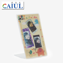 CAIUL acrylic photo frame for Polaroid camera photo printer Snap+/Snap tuch/Socialmatic photo paper photograph transparent frame