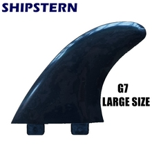 Free Shipping quilhas G7 Large size Surf Fins Surfing Fins Surfboard fcs fins surfboard fins(3 pcs)