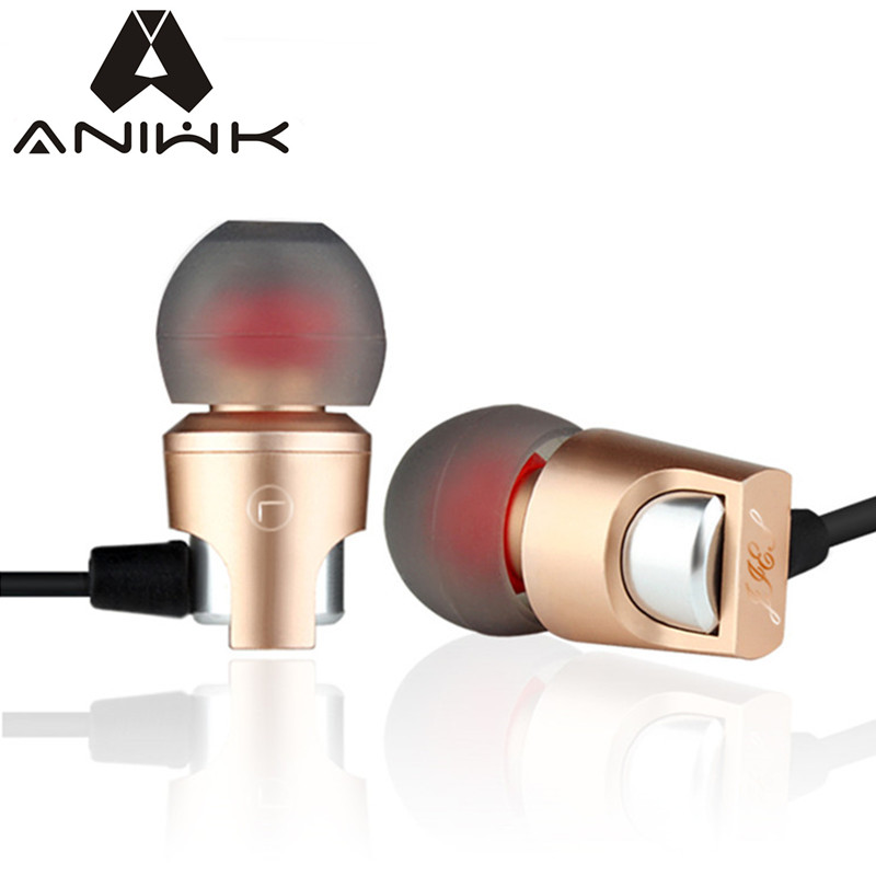 Aniwk Original BEEVO X1 Metal Waterproof NoiseCancelling Headset Ear 3DBass Surround Sound For for Xiaomi for Samsung for Iphone<br><br>Aliexpress