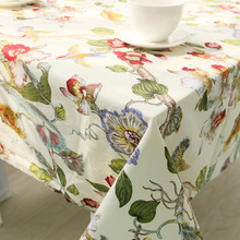 Tablecloth Toalha De Mesa Table Cover Folk-custom Vintage Wedding Table Cloth Rectangle Provence Tafelkleed Tablecloths