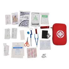 15pcs/22pcs Ourdoor Mini Compact First Aid Kit Medical Emergency Bag for Home Travel Sport Wilderness Survival(China)
