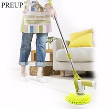 PREUP Multifunction Cleaner Floor glass Mop 360 Rotating Charging Cleaning Brush Cleaning Window Dishes Automatic Mop Household