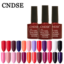 CNDSE 156 Color LED&UV Gel Polish Soak Off 10 ML Professional Half A Permanent Semipermanent Cheap Good Quality Healthy Nail Gel