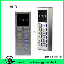M10 RFID card EM card standalone access control IP65 wiegand access controller with keyboard can works as card reader