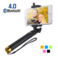 2016 Wireless Bluetooth Selfie Stick Remote Button Shutter Photo Extendable Pole Monopod For iPhone Samsung Smart Phone Camera