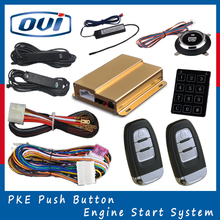 2016 Hot Selling Auto Smart Start System Car Push Button Start With Original Key PKE Keyless Entry Remote Start Stop System