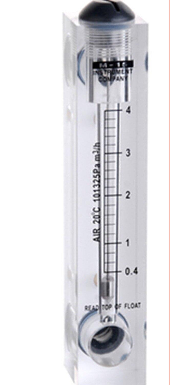 without control valve LZM-15(0.4-4m3/h)panel type flowmeter(flow meter) lzm15 panel/Oxygen flowmeters Tools Measurement Analysis<br><br>Aliexpress