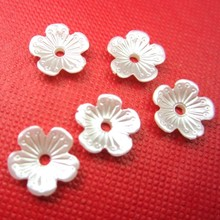 Free Shipping Ivory/White 11mm Craft ABS Imitation Flower Pearls Resin Scrapbook Beads Sewing Button Beading Decorate Diy(China)