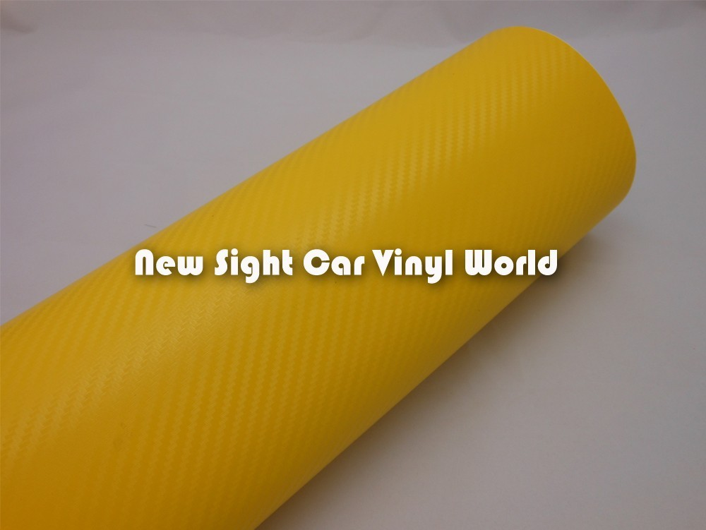 High-Quality-Yellow-Carbon-Fiber-Vinyl-Wrap-02