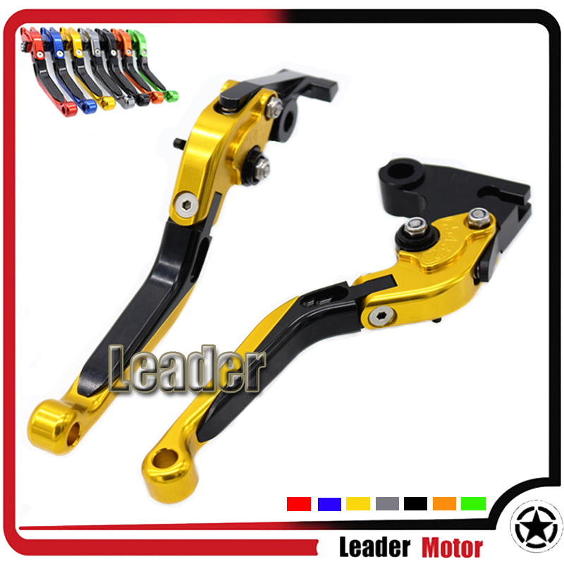 For Triumph SPEED TRIPLE TIGER 1050/Sport THRUXTON TIGER800/XC SCRAMBLER Motorcycle Folding Extendable Brake Clutch Levers Gold<br><br>Aliexpress