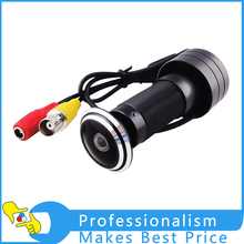 1Pcs 420TVL Peep Hole Viewer Camera 1.7mm Wide Angle Lens Indoor CCTV Home Security Camera New