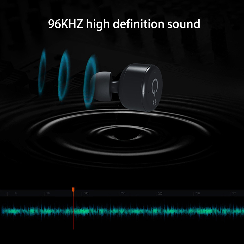Betreasure X2T Wireless Earphone Couple Bluetooth CSR4.2 Stereo Music Magnetic Charger Box Case Earphones For Smartphone